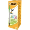 Bic Cristal Fun Ballpen 1.6mm Tip 0.6mm Line Lime Green Ref 927885 [Pack 20]