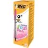 Bic Cristal Fun Ballpen 1.6mm Tip 0.6mm Line Pink Ref 929056 [Pack 20]