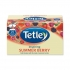 Tetley Tea Bags Raspberry and Pomegranate Infusion Individually Wrapped Ref 1580a [Pack 25]