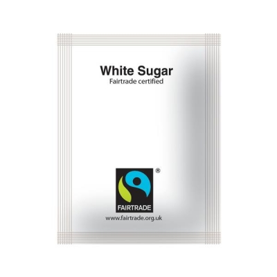 Fairtrade Sugar Sachets White Ref A03620 [Pack 1000]