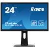 Iiyama Monitor H/A/VGA/DVI/HDMI 24inch Ref B2483HS-B1