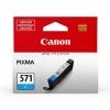 Canon CLI-571 InkJet Cartridge Page Life 340pp Cyan Ref 0386C001