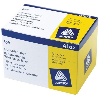 Avery Address Labels Roll 89x37mm Ref AL02 [250 Labels]