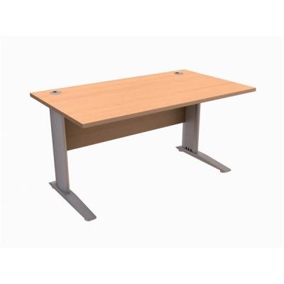 Sonix  Cantilever Desk Rectangular 1600mm Beech