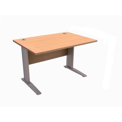Sonix  Cantilever Desk Rectangular 1200mm Beech