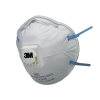 3M Respirator Valved FFP2 Classification White with Blue Straps Ref 8822 [Pack 10]