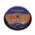 Verbatim DVD-R Spindle Ref 43523 [Pack 10]
