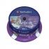 Verbatim DVD+R Inkjet Print Spindle Ref 43539 [Pack 25]