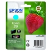 Epson No. 29 InkJet Cartridge 180pp 3.2ml Cyan Ref C13T29824010