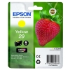Epson No. 29 InkJet Cartridge 180pp 3.2ml Yellow Ref C13T29844010