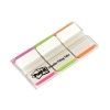 Post-it Index Tabs Lined Strong 25mm Assorted Pink Bright-green Orange Ref 686L-PGO [Pack 66]