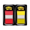 Post-it Index Dual Pack Post-it Index Flags 50 per Pack 25mm Red/Yellow Ref 680-RY2 [Pack 2]