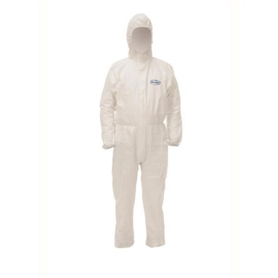 Kleenguard A40 Coverall Film Laminate Fabric Particle-resistant Anti-static EN 1149-1 Medium Ref 97910