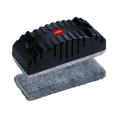 Nobo Drywipe Eraser Non Magnetic with Pile Surface