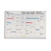 Mark-it Month Planner Laminated with Notes Column W900xH600mm Ref MP