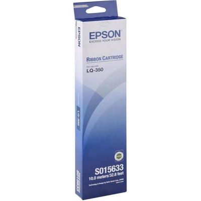 Epson SIDM Ribbon Cassette Fabric Nylon Black for LQ300+/+11/LQ350 Ref C13S015633
