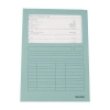 Leitz Window Folder 160gsm A4 Light Blue Ref 3950-00-30 [Pack 100]