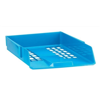 Avery Basics Letter Tray Stackable Versatile A4 Foolscap W278xD390xH70mm Blue Ref 1132BLUE