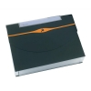 Rexel Optima Expanding Organiser File Polypropylene 13-Part Capacity 500 Sheets A4 Black Ref 2102483
