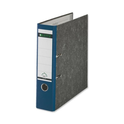 Leitz Standard Lever Arch File 80mm Spine A4 Blue Ref 1080-35 [Pack 10]