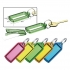 5 Star Key Hanger Sliding with Fob Label Area 25x20mm Tag Size Small 45x28mm Assorted [Pack 100]