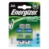 Energizer Battery Rechargeable NiMH Capacity 2300mAh HR6 1.2V AA Ref 626178 [Pack 2]