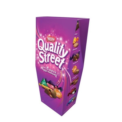 Nestle Quality Street Assorted Chocolates Box 350g Ref 12294415