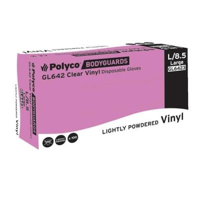 Keepsafe Everyday Clear Vinyl Gloves Medium Ref304997903 [50 Pairs]