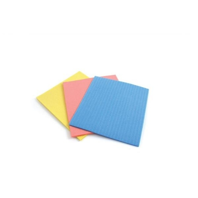 Sponge Cloths Cellulose Assorted [Pack 18]