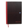 Black n Red Notebook Smart Ruled Casebound 90gsm A4 Ref 100080428