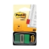 Post-it Index Flags 50 per Pack 25mm Green Ref 680-3 [Pack 12]