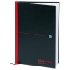 Black n Red Book Casebound Recycled 90gsm 192pp A4 Ref 100080530 [Pack 5]