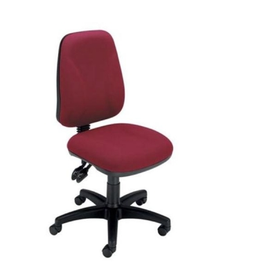 Trexus Intro High Back Permanent Contact Chair Seat W490xD450xH440-560mm Back H490mm Claret