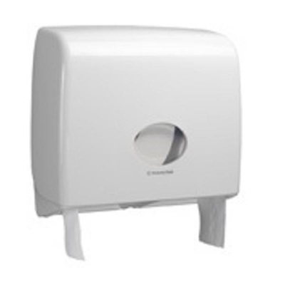 Kimberly-Clark Aqua Jumbo Toilet Tissue Dispenser W146xD470xH399mm White Ref 6991