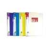 Concord Display Book Polypropylene 20 Pockets A4 Assorted Ref 7136-PFL [Pack 12]