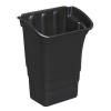 Rubbermaid Refuse Bin for Utility Cart W431xD304xH558mm 30L Black Ref 3353-88-BLA