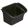 Rubbermaid Utility Bin for Utility Cart W432xD308xH267mm 15L Black Ref 3354-88-BLA