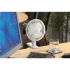 5 Star Clip-On Fan with Tilt for Desk or Shelf 2-Speed 15W 152mm