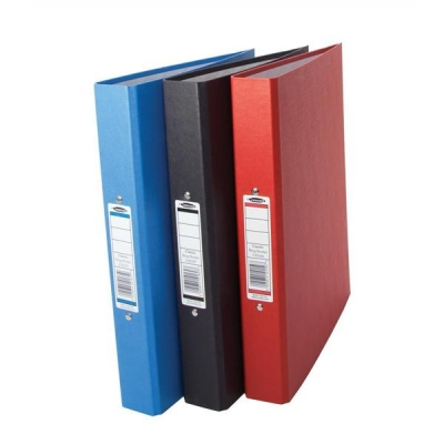 Concord Classic Ring Binder 2 O-Ring Capacity 25mm A4 Assorted Ref C82150 [Pack 10]