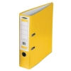 Concord Classic Lever Arch File Printed Lining Capacity 70mm Foolscap Yellow Ref C216053 [Pack 10]