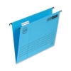 Elba Verticfile Ultimate Suspension File Manilla 240gsm A4 Blue Ref 100331149 [Pack 25]