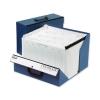 Rexel Colorado Expanding Box File A-Z Foolscap Blue Ref 31713EAST