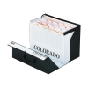 Rexel Colorado Expanding Box File A-Z Foolscap Black Ref 31765EAST
