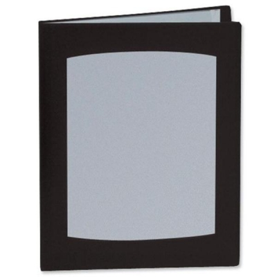 Rexel Clearview Display Book 100 Pockets A4 Black Ref 10390BK