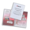 Rexel Superfine Display Book with Index Sheet 20 Pockets A4 Clear Ref 10520 [Pack 10]