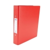 Elba Ring Binder PVC 2 O-Ring Size 25mm A5 Red Ref 100082444 [Pack 10]