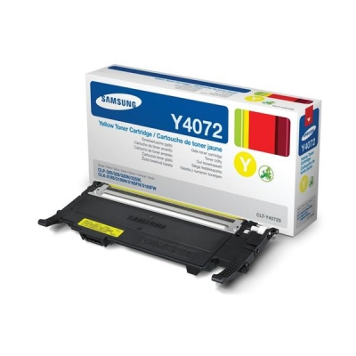 Samsung Laser Toner Cartridge Page Life 1000pp Yellow [For CLP-320/CLP-325/CLX-3185] Ref CLT-Y4072S/ELS