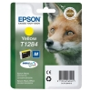 Epson T1284 Inkjet Cartridge DURABrite Fox Capacity 3.5ml Yellow Ref C13T12844011