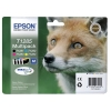 Epson T1285 Inkjet Cartridge DURABrite Fox 16.4ml Black/Cyan/Magenta/Yellow Ref C13T12854010 [Pack 4]