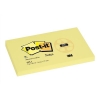 Post-it Recycled Notes Pad of 100 76x127mm Yellow Ref 655-1YE [Pack 12]